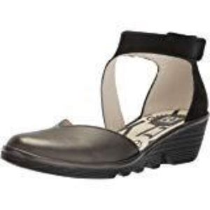 FLY LONDON SHOES: Color: Anthracite/Black